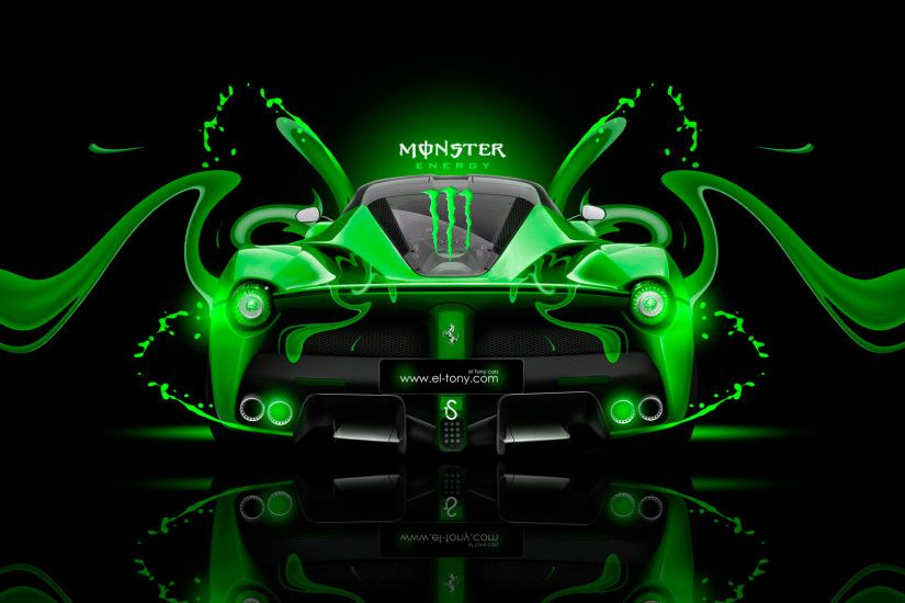 ... Monster Energy Ferrari F430 Front Plastic Car 2014 | el Tony ...