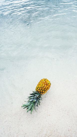 download this cool pineapple background