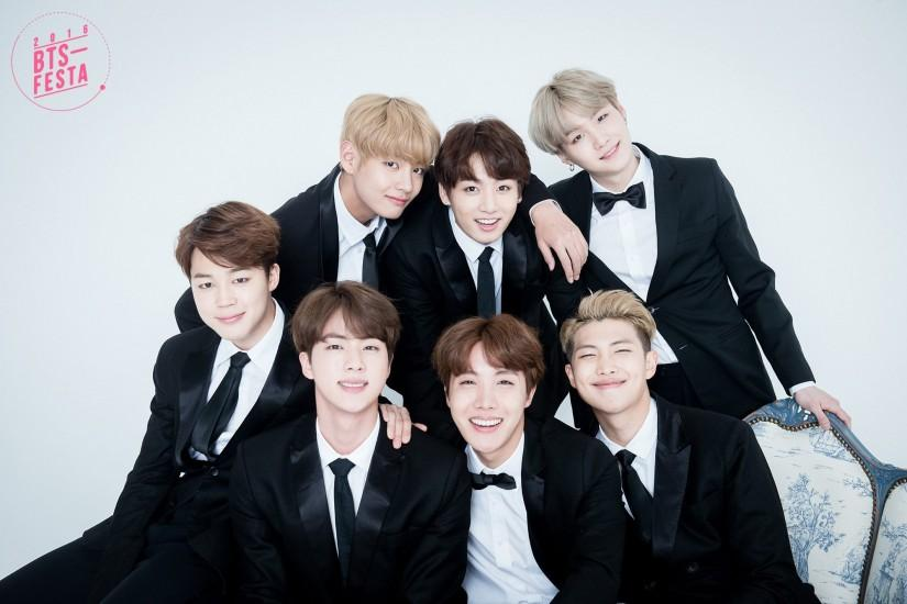 "BTS Shares 1st Set Of ""Family Photos"" For 3rd Anniversary Festa"