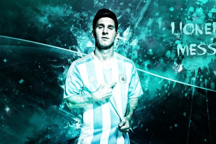 Lionel Messi 1920x1080 Desktop Wallpapers.