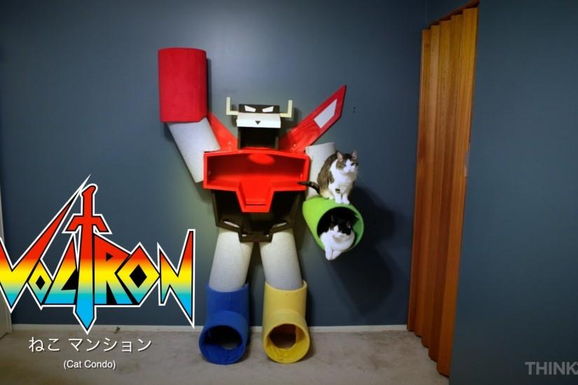 Voltron Cat Condo from ThinkGeek