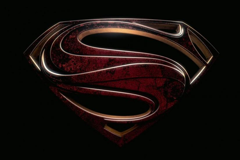 Superman Logo Man Of Steel Wallpaper Free Desktop