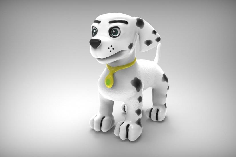 Marshall Paw patrol Puppy Fan made