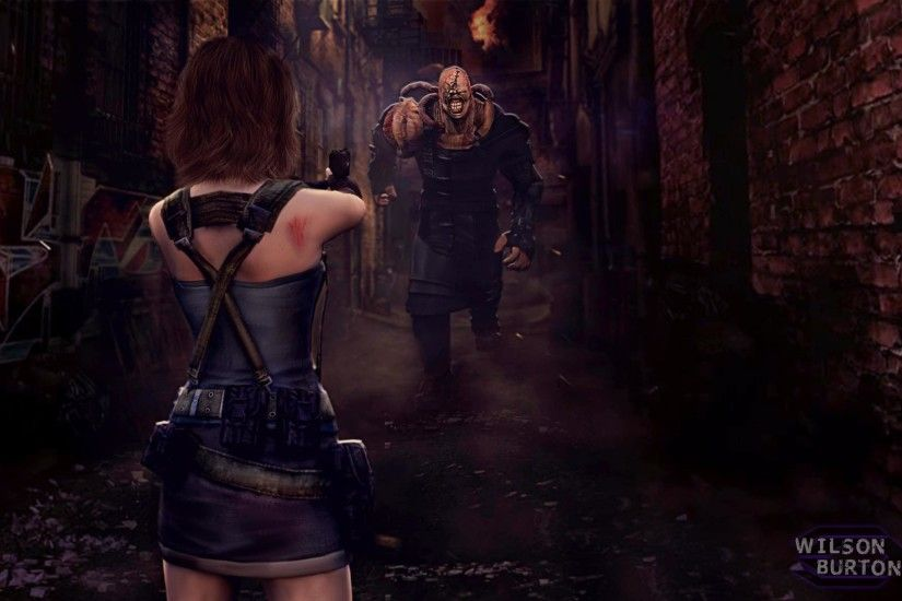 ... Resident Evil 3 Remake ART by:Wilson Burton by wilsonBurton20