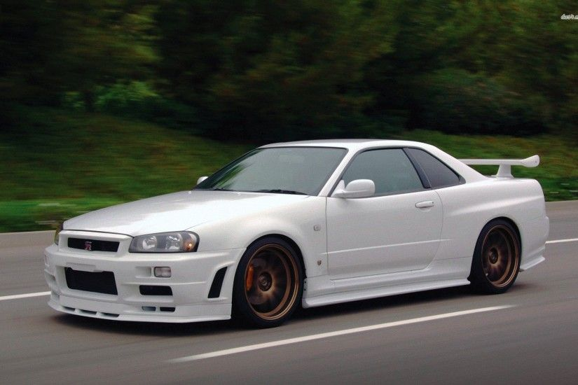 Nissan GTR R Wallpaper 1920×1080 Nissan Skyline GTR R34 Wallpapers |  Adorable Wallpapers