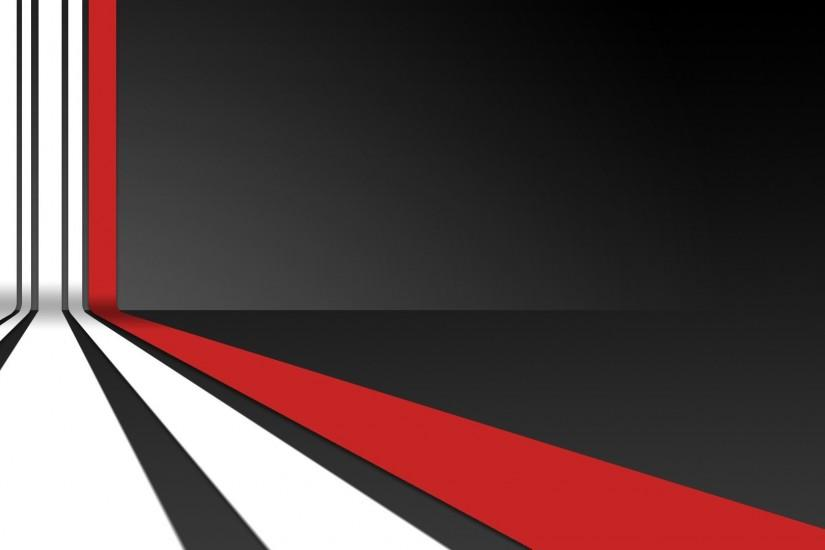 Red Wallpaper 1920x1080 Abstract, Red, White, Digital, Art, Black .