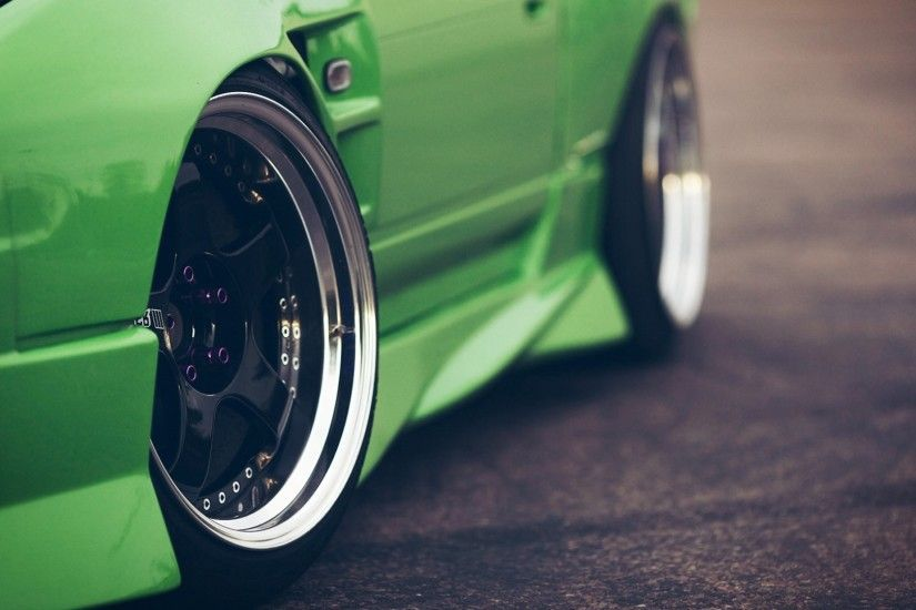 Related Wallpapers from Drift Wallpaper HD. Green Car Unique Wheels Photo