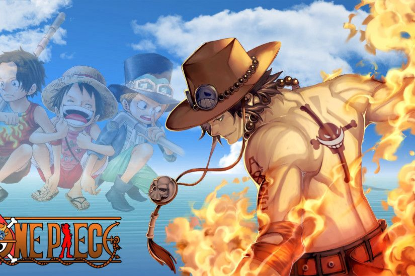 One Piece Ace HD Wallpaper by Geeksoul