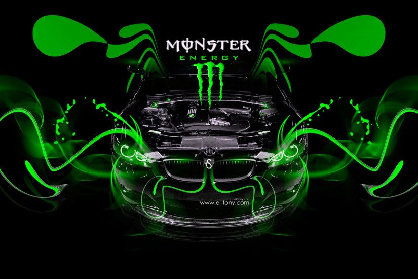 Monster Energy Lotus C 01 Fantasy Plastic Bike Azure Neon .