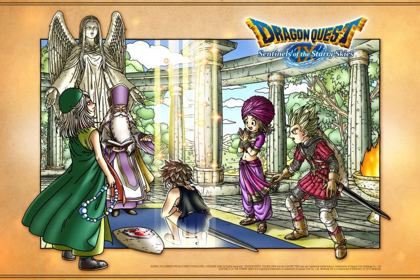 Dragon Quest IX Official Wallpaper Abbey ...