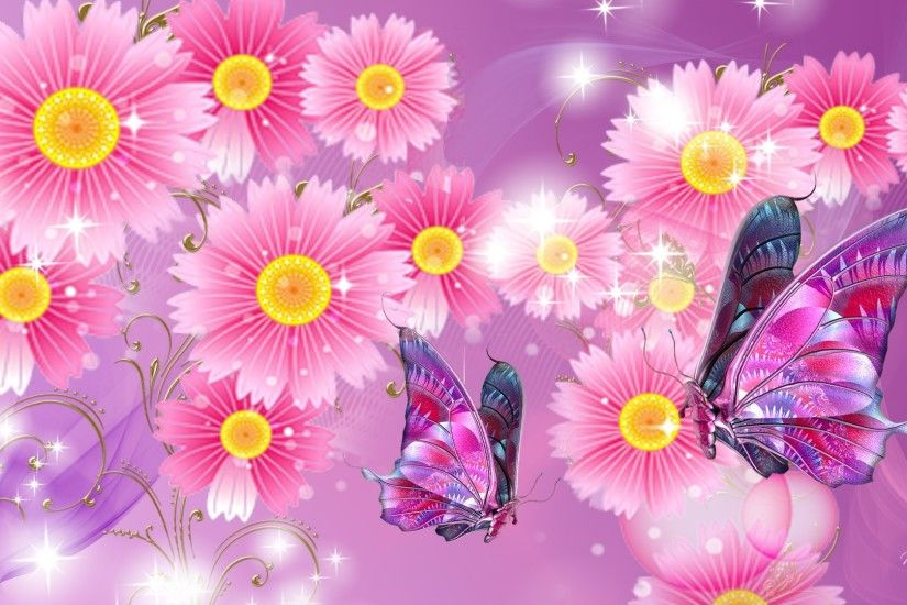 ... Pink Butterfly Wallpapers Phone