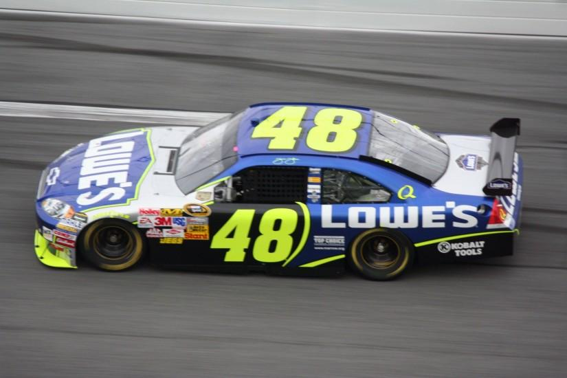 Jimmie Johnson, Nascar Wallpaper HD