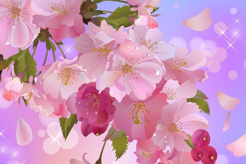 Apple blossoms sweet wallpaper