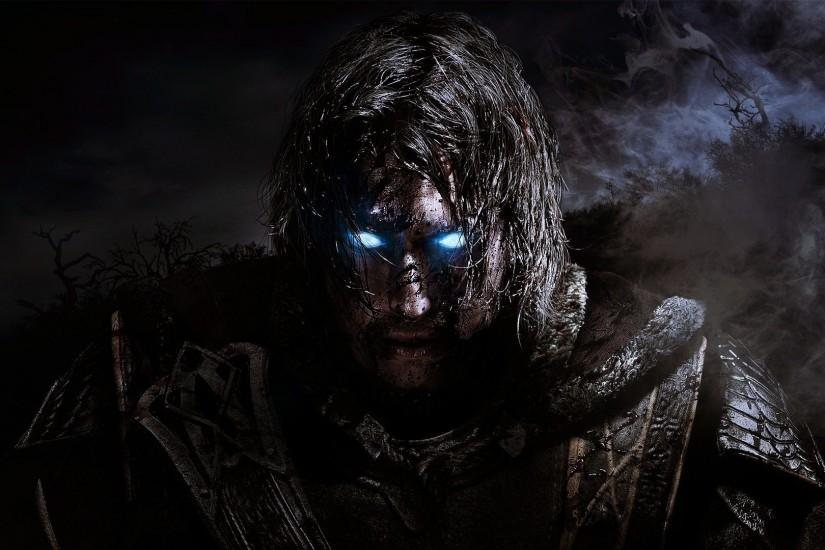 Preview wallpaper middle-earth shadow of mordor, warrior, ghost, monolith  productions,