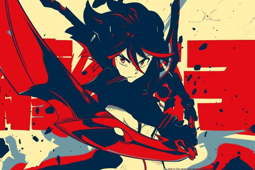 large kill la kill wallpaper 2560x1440 for full hd
