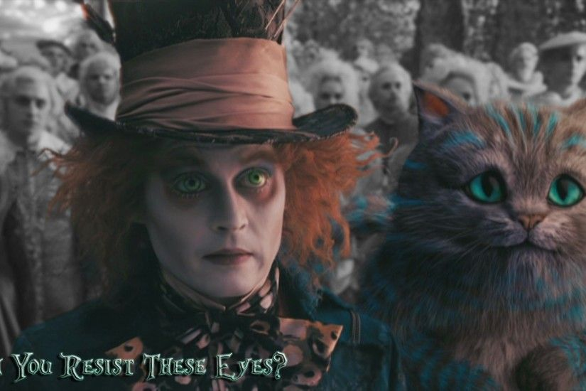 movies, Alice In Wonderland, Cat, Johnny Depp, Mad Hatter, Cheshire Cat  Wallpapers HD / Desktop and Mobile Backgrounds