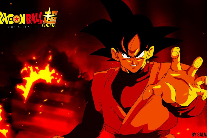 Anime - Dragon Ball Super Black Goku Dragon Ball Goku Black (Dragon Ball)  Wallpaper