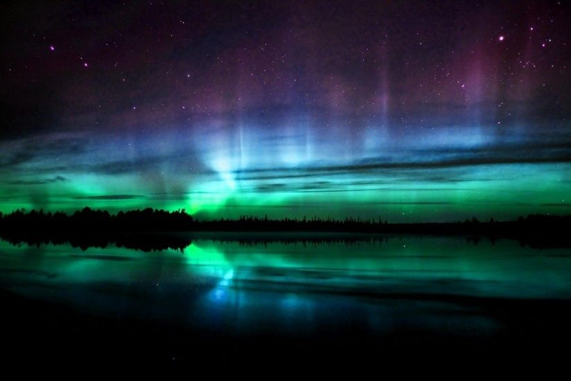 Natural wonders of the Northern Lights HD Wallpaper (1) #16 - 1920x1080.