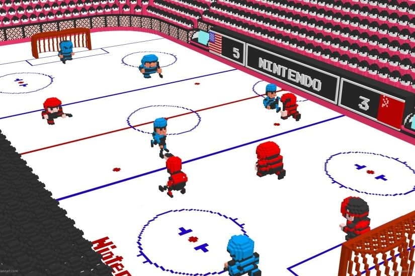 1920x1080 Nintendo 3D Ice Hockey 2 wallpaper