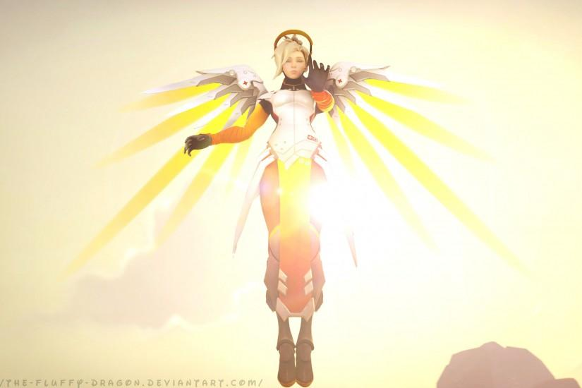 mercy overwatch wallpaper 2925x1687 for ipad pro