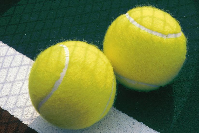 2560x1440 Wallpaper tennis, balls, sports