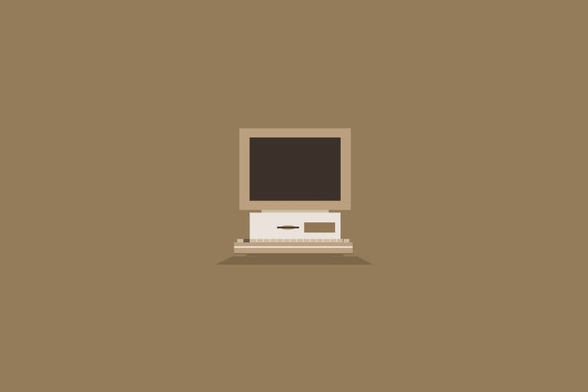 Charlie-Henson 1 0 Flat Old Computer Wallpaper Brown by Charlie-Henson