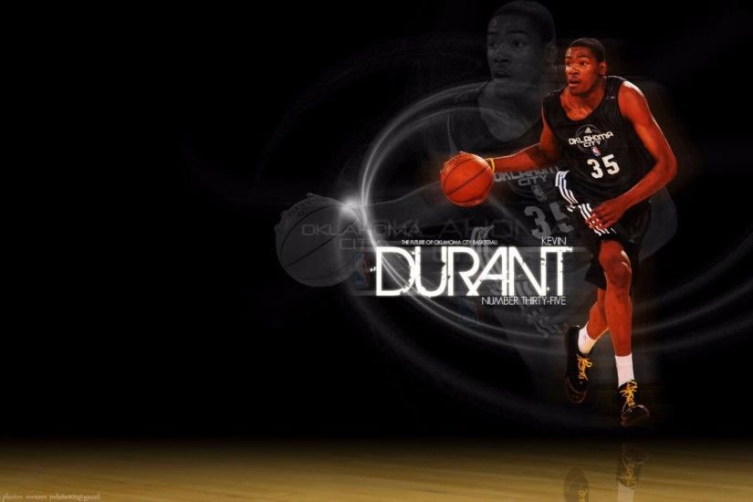 Black Background Kevin Durant 4K Wallpapers