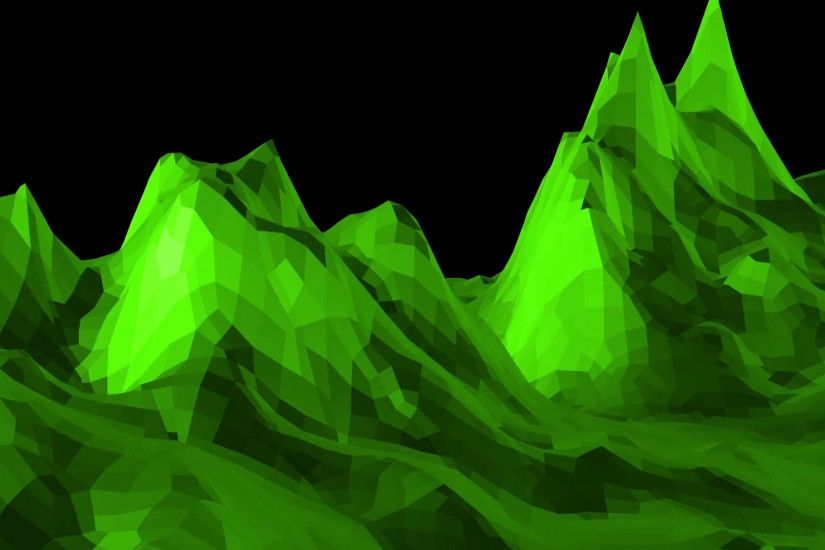 Cool Green Backgrounds Green Low Poly Background Pulsating Abstract Low  Poly Surface As
