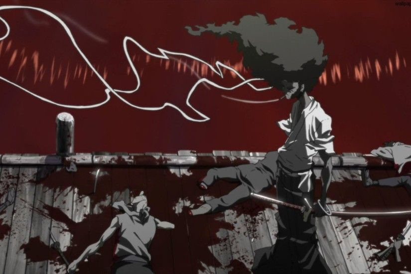 River of Blood - by Afro Samurai