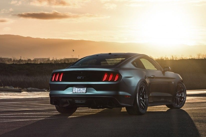 2560x1080 Wallpaper ford mustang, 2015, gt