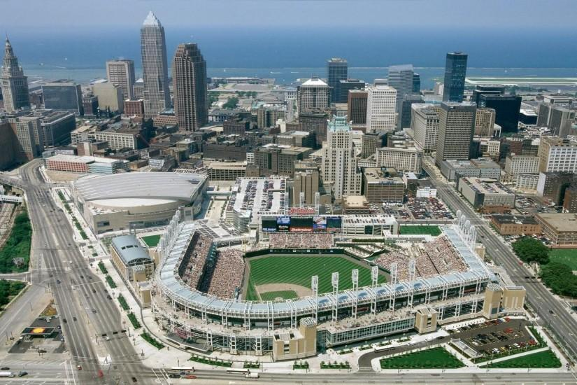 Cleveland Indians - Jacobs Field - Cleveland, OH - Solid ballpark, good  location. The best thing going in downtown Cleveland with the possible  exception of ...