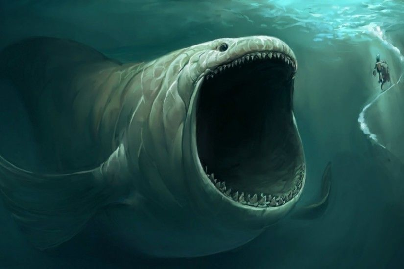 #1415790, sea monster category - desktop wallpaper for sea monster