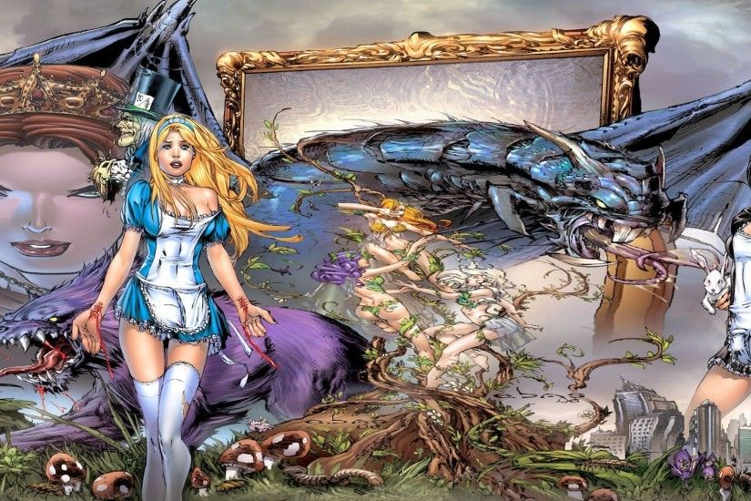 grimm fairy tales images for desktop background, 1920x1080 (758 kB)
