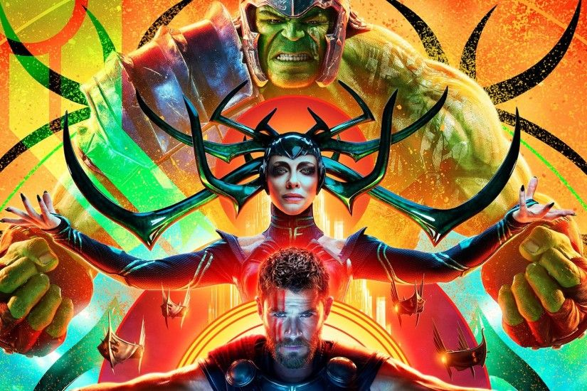 Hulk, Hela, Thor Ragnarok Wide Wallpapers, Images, HD