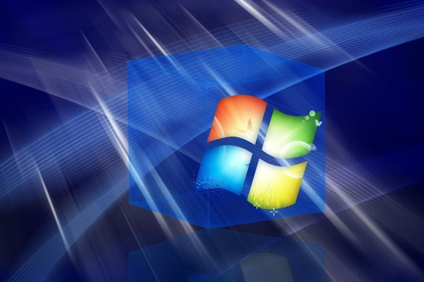 1920x1080 Hd 3d Blue Windows Cube desktop backgrounds wide wallpapers: 1280x800,1440x900,1680x1050