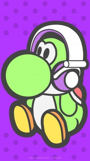 Thought you might like this wallpaper I made for my Yoshi fan website.