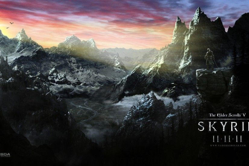 Skyrim Scrolls Elder Desktop wallpapers HD free - 266621