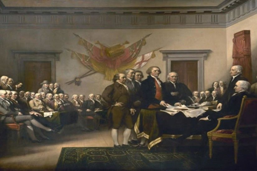Declaration independence fine art painting reproduction free .
