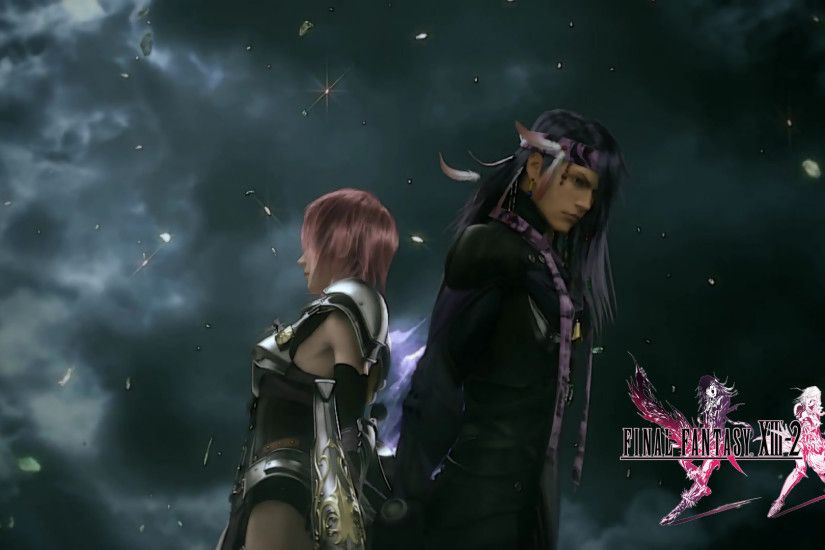 Lightning and Caius - Final Fantasy XIII-2 wallpaper
