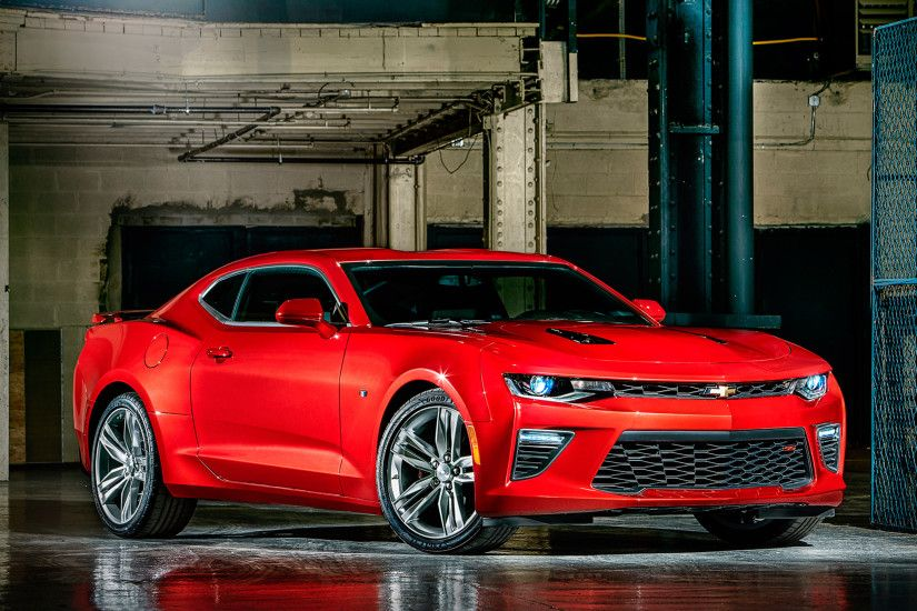 2016 Chevrolet Camaro HD Desktop Background Wallpapers