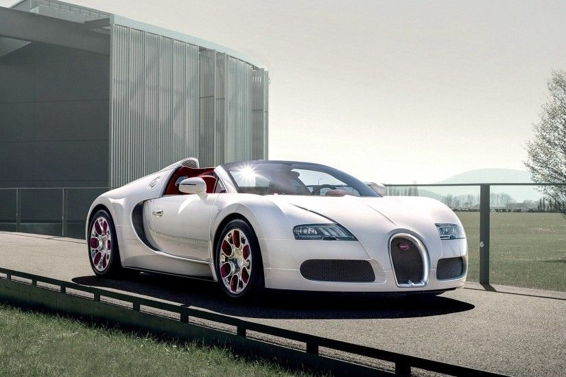 Bugatti Veyron in a showroom wallpaper Car wallpapers