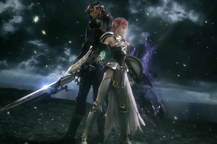 Final fantasy lightning and cloud wallpaper - photo#25
