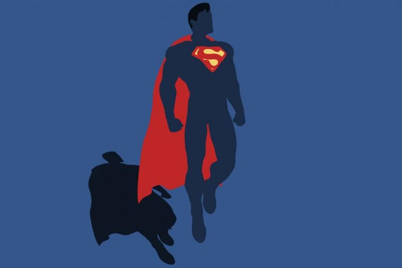 Superman with Logo HD Images Wallpaper