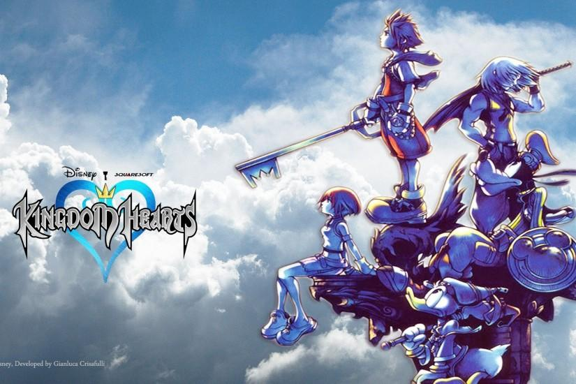 download kingdom hearts background 1920x1200