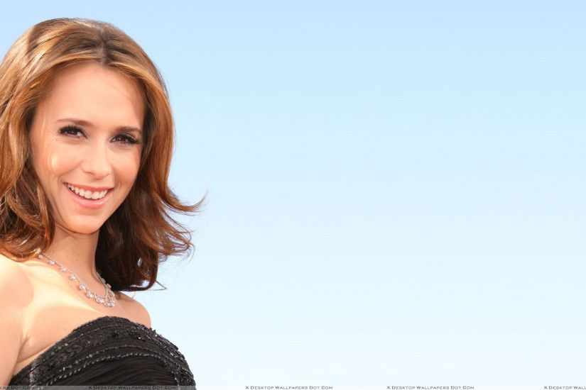 "You are viewing wallpaper titled ""Jennifer Love Hewitt Smiling In Black ..."
