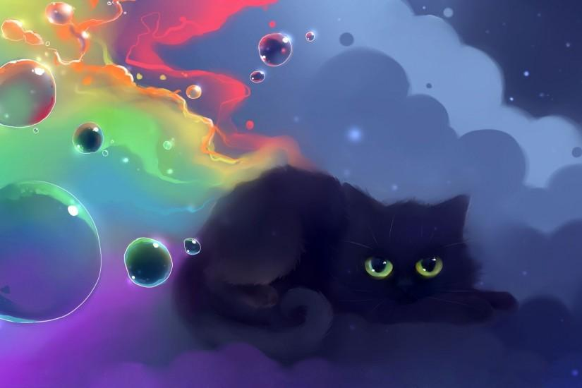 Black cat wallpaper #18634