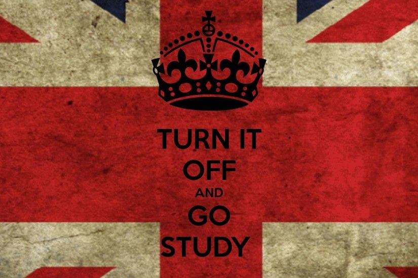 TURN IT OFF AND GO STUDY - KEEP CALM AND CARRY ON Image Generator