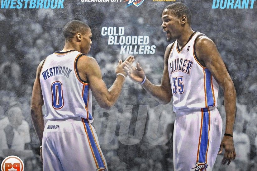 Kevin Durant And Russell Westbrook Wallpapers 2017 - Wallpaper Cave