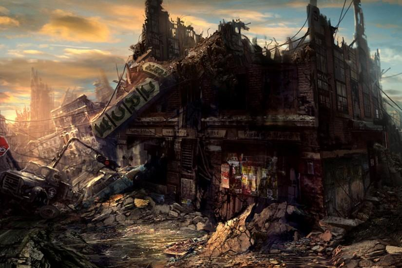 265 Post Apocalyptic HD Wallpapers | Backgrounds - Wallpaper Abyss - Page 8