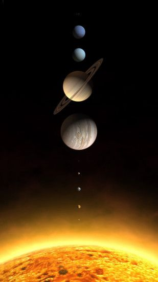 Planets in the our solar system Wallpaper